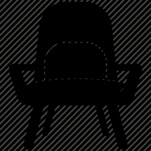 chair, decor, furniture icon