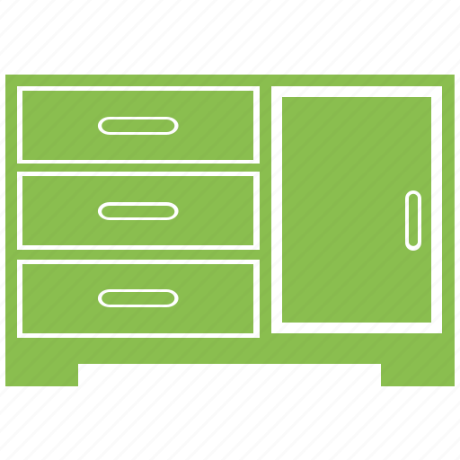 Drawer, furniture, home, office, shelve icon - Download on Iconfinder