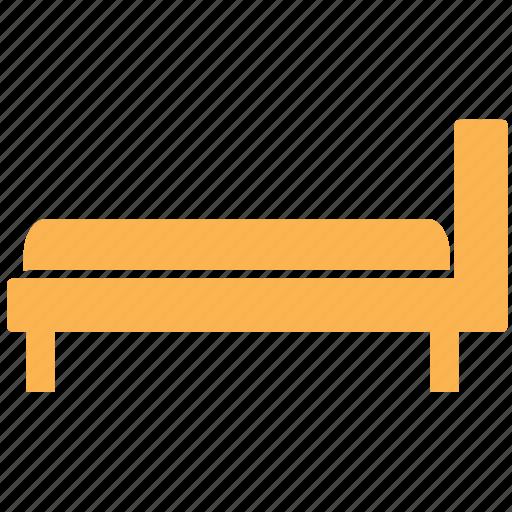 bed, bedroom, bedroom furniture, furniture icon