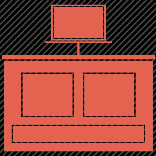 furniture, interior, lcd, tv, wardrobes, wood icon