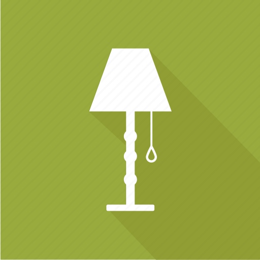 desk lamp, desk light, lamp, lamp light, table icon