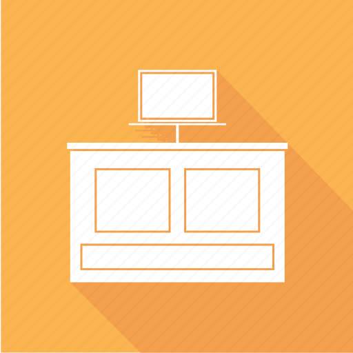furniture, stand, table, tv icon