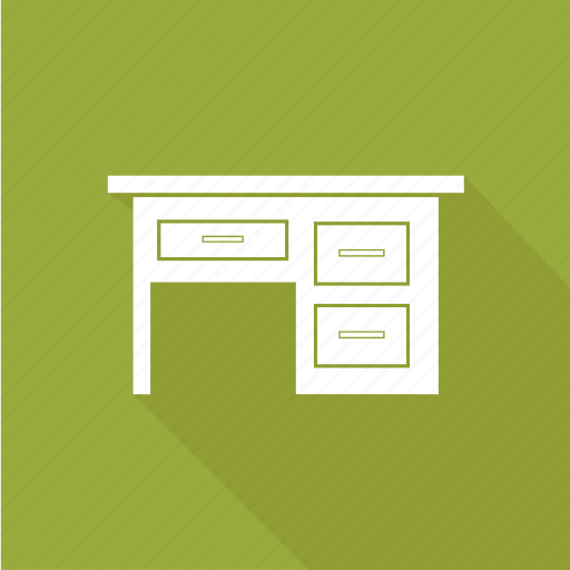 desk, table, working icon