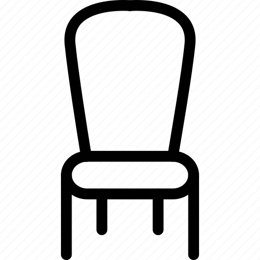 chair, furniture, house, office, seat icon