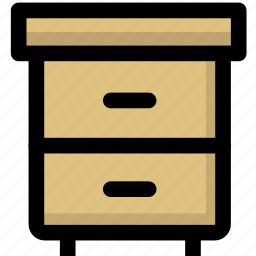 archives, cabinet, furniture icon