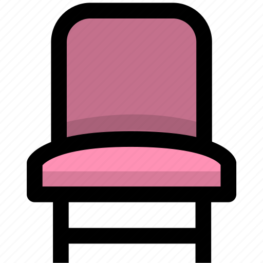 chair, furniture, home icon