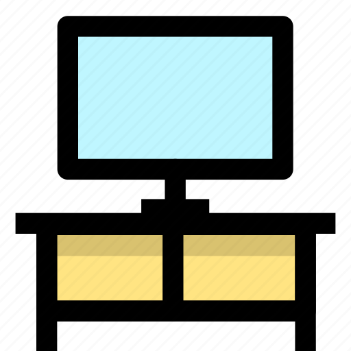 furniture, home, tv cabinet icon
