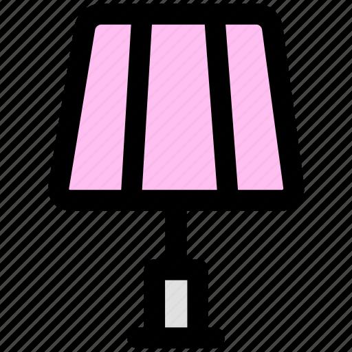 desklamp, furniture, lamp, lamplight, table lamp, tablelamp icon