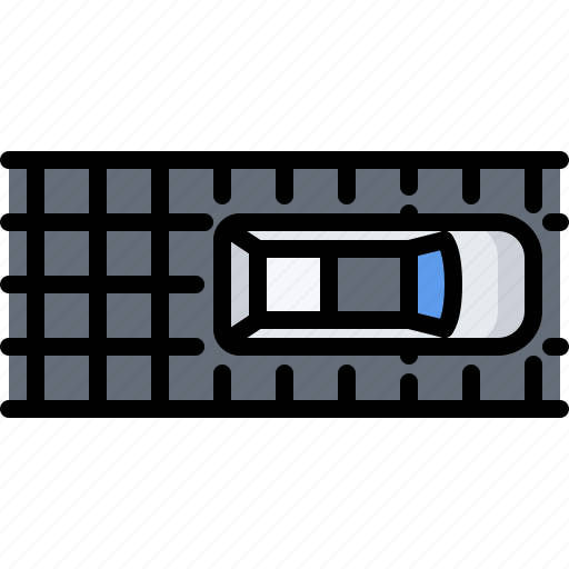 battery, car, future, road, science, solar, technology icon