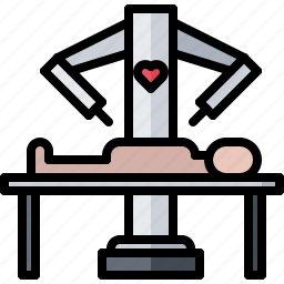 future, medicine, robot, science, surgeon, technology icon