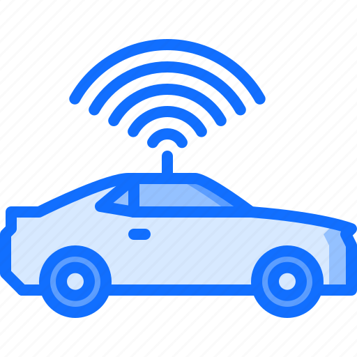 car, future, science, technology, unmanned icon
