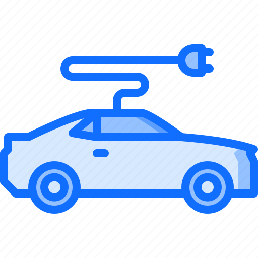 car, electric, electricity, future, science, technology icon