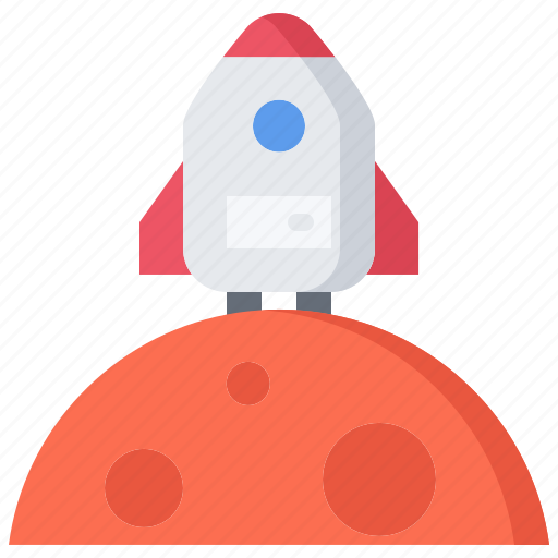 future, house, mars, science, spaceship, technology icon