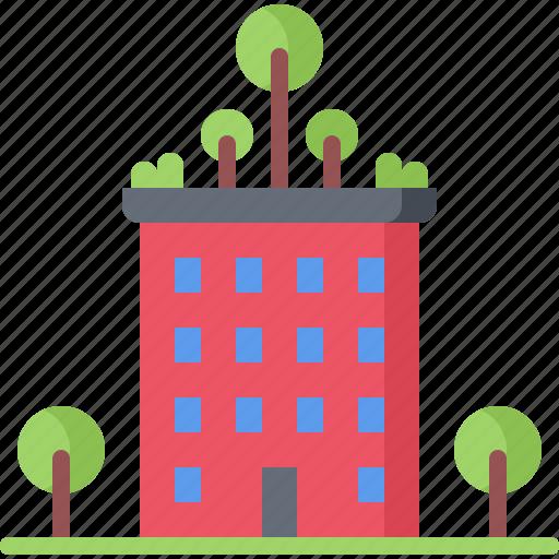 bush, cover, future, green, science, technology, tree icon