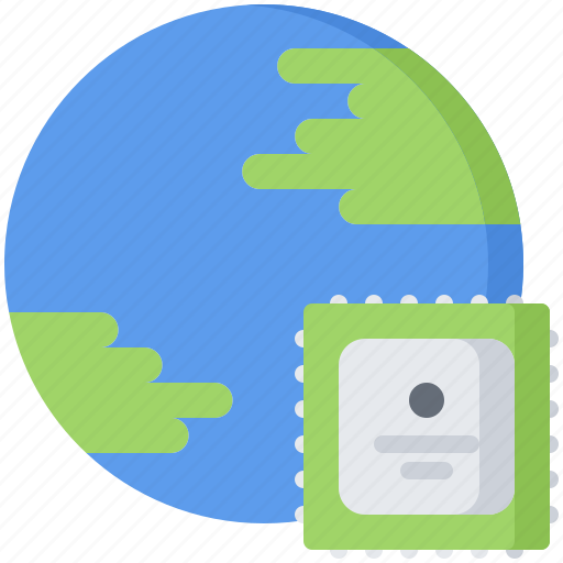 earth, future, planet, science, technology icon