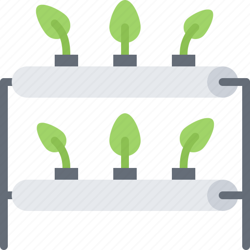 future, growing, hydroponics, plant, science, technology icon