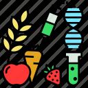 crop, genetically, gm, gmo, modified, organism icon