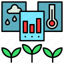 agriculture, data, database, farming, information icon