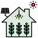 farming, future, garden, greenhouse, indoor icon