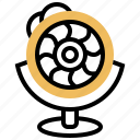 artificial, bionic, eye, vision, watch icon