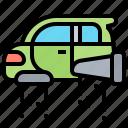 car, flying, futuristic, innovation, technology icon