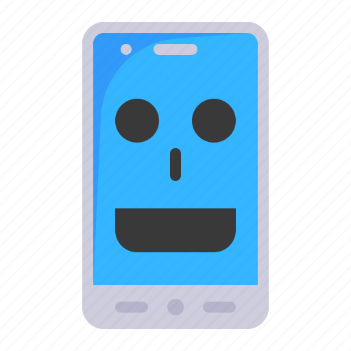 ai, mobile, smartphone, technology, virtual assistant icon
