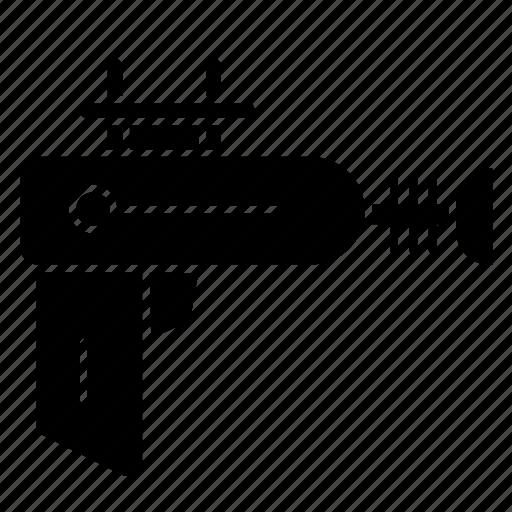 .svg, blaster, drilling, holes, machine icon