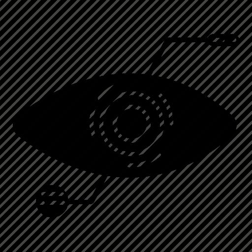 .svg, eye, retinal, scan icon