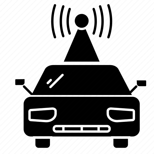 .svg, car, electronic, signal, wireless icon