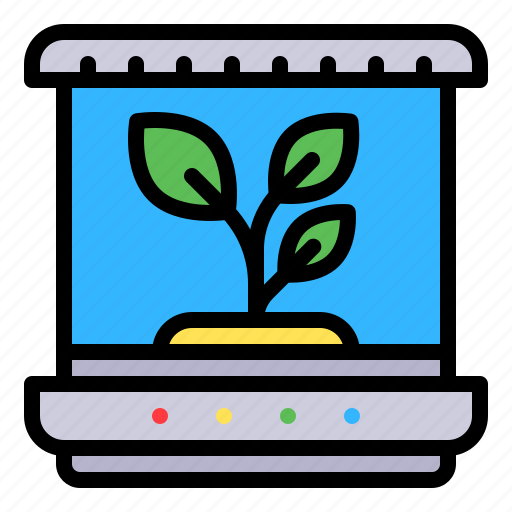 plant, technology, tissue culture, tree icon