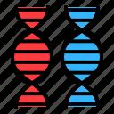 chromosome, dna, gene, genome, technology icon