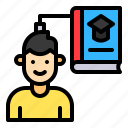 book, education, know, knowledge, technology icon