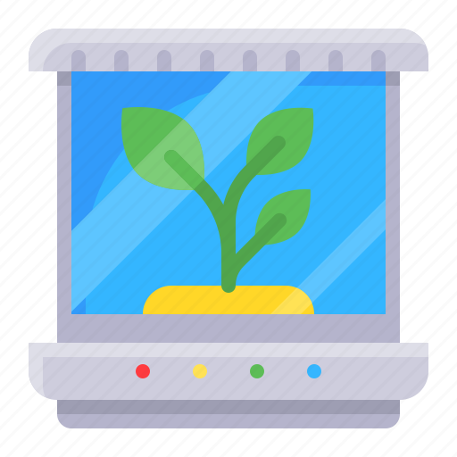 grow, plant, technology, tissue culture, tree icon