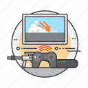 interface, technology, video games, videogame, virtual, vr, vr gaming icon