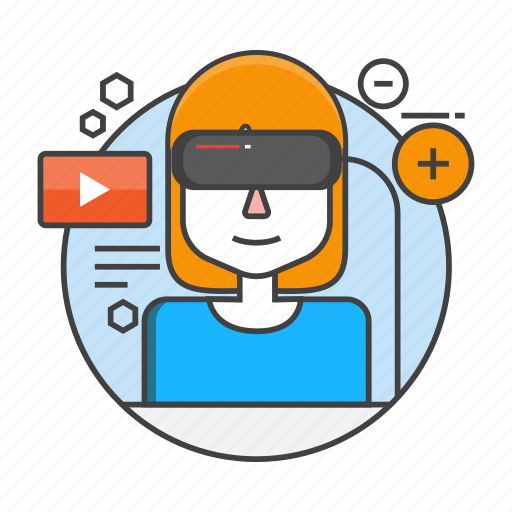 Gaming, glasses, reality, virtual, vr, virtual reality, vr glasses icon - Download on Iconfinder
