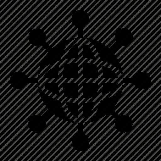 computer, hologram, holography, image, technology icon