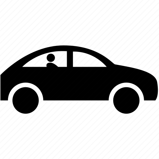 automatic car, automation, computer driver, control, driverless, droid transport, robo taxi icon