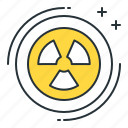 biohazard, futuristic, warning icon