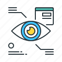 augmentation, eyetap icon