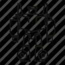 cyborg, future, game, robot, robotic, toy, transformer
