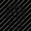 character, cyborg, future, robot, robotic, toy, transformer icon