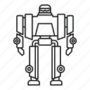 cyborg, future, game, metal, modern, robot, transformer