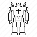 character, combat, future, guard, robot, soldier, transformer icon