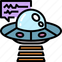 alien, connection, explore, future, galaxy, space, ufo icon