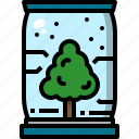 eco, future, growth, plant, technology, tree icon