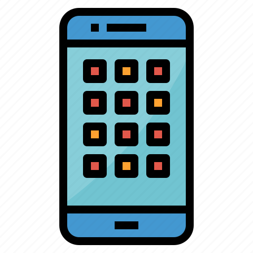 Cellphone, mobile, phone, smartphone icon - Download on Iconfinder