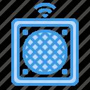 device, gadget, media, speaker, technology icon