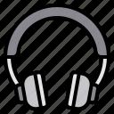 device, gadget, headphone, media, technology icon