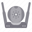 cctv, device, gadget, media, technology icon