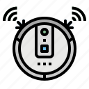 automation, cleaner, cleaning, robot, vacuum icon